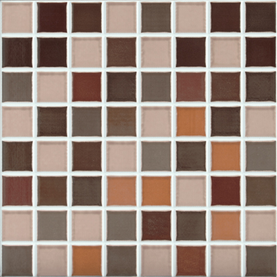 Roca Rainbow Mosaic (Discontinued) Marron F9G0028251