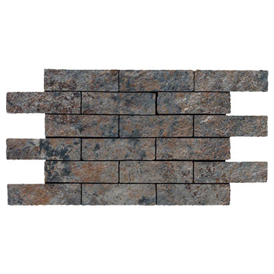 Rock & Rock Natural Brick Mosaic Antracita FG1016A311