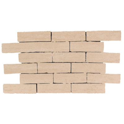 Rock & Rock Travertino Brick Mosaic Crema FR10257071