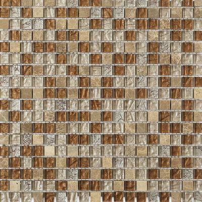 Soho Studio Corp Fusion Mosaic Squares Saddle Leather