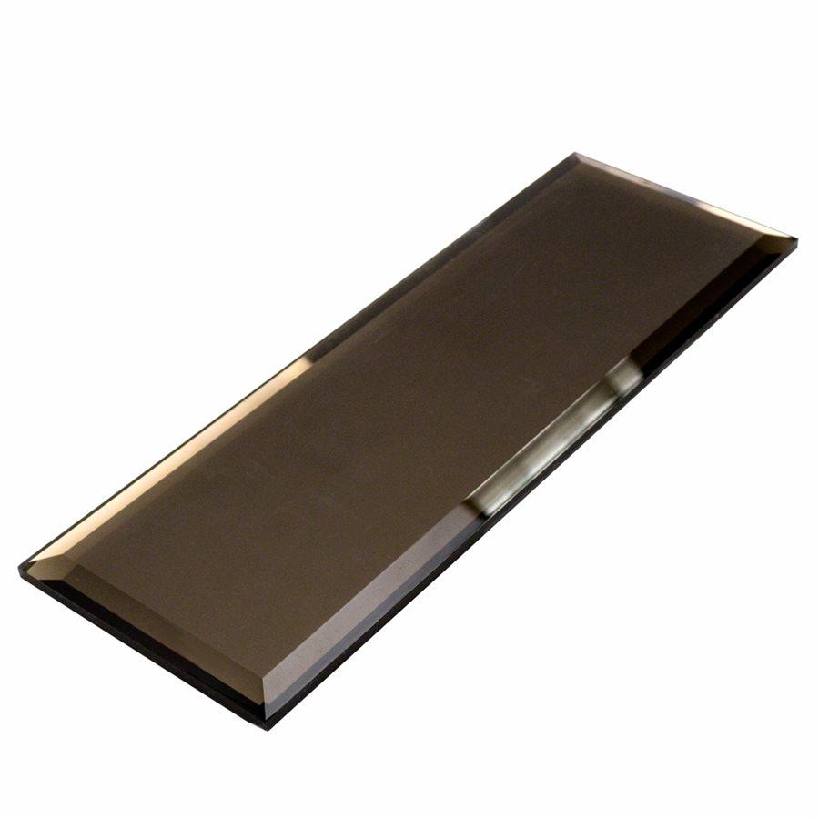 Soho Studio Corp Mirror 4 X 12 Beveled Bronze