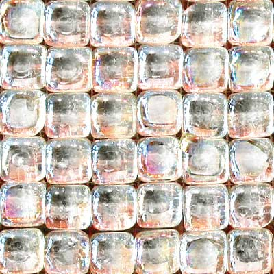 Solistone Glass Pillow Cubes Mosaic Opal SOL9022