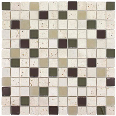 Elida Ceramica Earth Blend Mosaic Harvest Field CHIGLACT1103