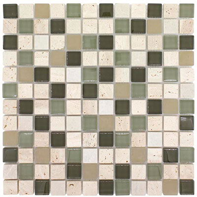 Elida Ceramica Earth Blend Mosaic Olive Tree CHIGLACT1102