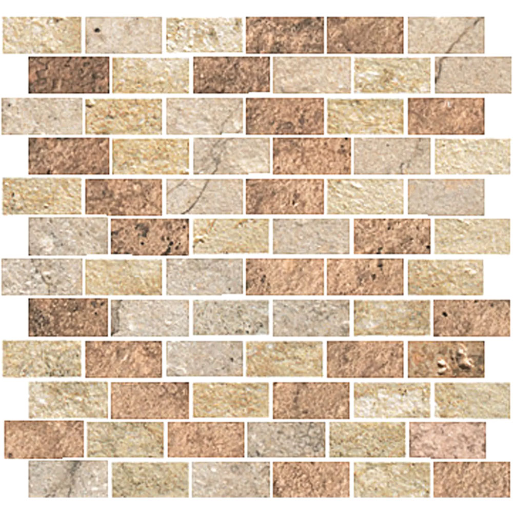 Stone Peak Cesare Magnus New Mosaic Design 5 Brick Mix USG12MB706