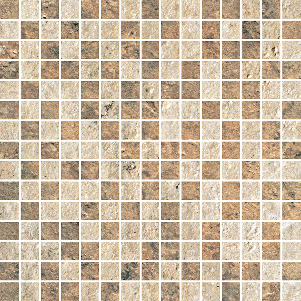 Stone Peak Cesare Magnus New Mosaic Design 5 Golden/Bronze USG12M1711