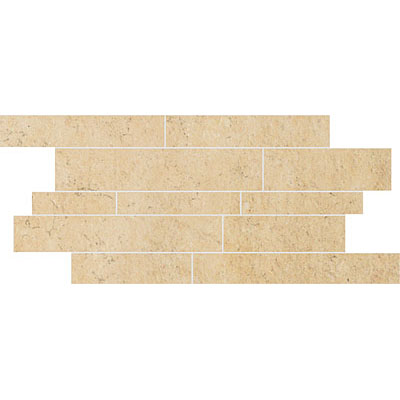 Stone Peak Limestone New Mosaic Design 4 Cream Gold USH124D404