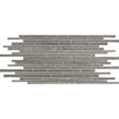 Stone Peak Materia 3D Honed Mosaic Multi-Size Strip Heather Grey USH124M580