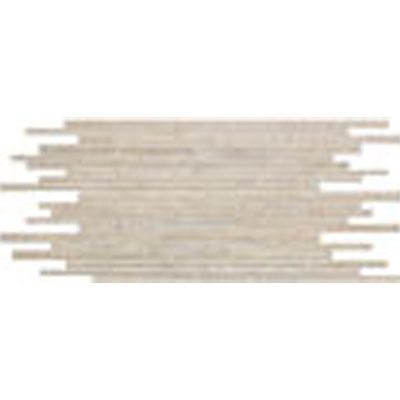 Stone Peak Materia 3D Honed Mosaic Multi-Size Strip Pearl USH124M582