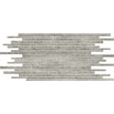 Stone Peak Materia 3D Honed Mosaic Multi-Size Strip Platinum USH124M583