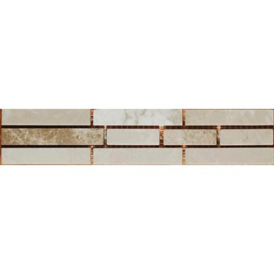 Tesoro Decorative Collection - Ayden 2 x 9.75 Listello Botticino Emperador OWTRAYLI21