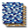 Stone & Glass - Staggered Mini Mosaics