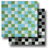 Glass Mosaic - Crystal Blend 1 x 1