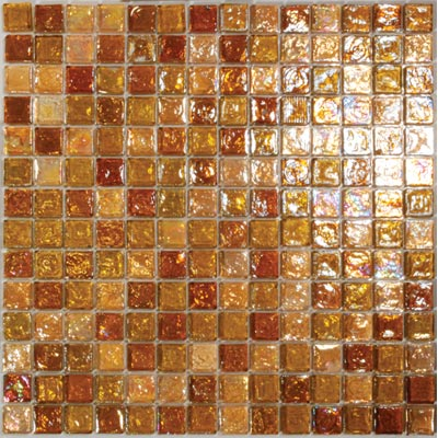 Tesoro Reflections Blends - 1 x 1 Mixed Mosaic #2 Jazzy/Serendipity/3 KELU11BL2