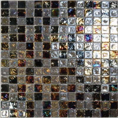Tesoro Reflections Blends - 1 x 1 Mixed Mosaic #3 Blended KELU11BL3