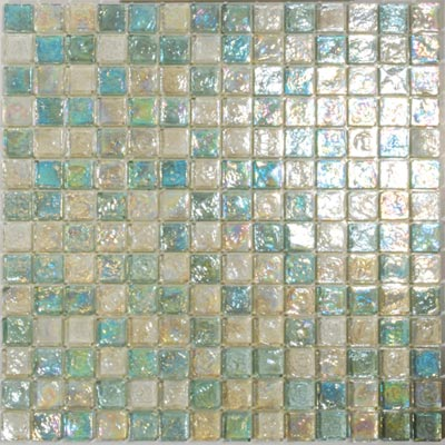 Tesoro Reflections Blends - 1 x 1 Mixed Mosaic #5 Blended KEEKELU11BL5
