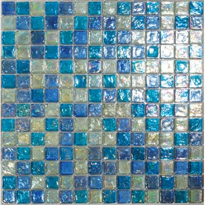 Tesoro Reflections Blends - 1 x 1 Mixed Mosaic #6 Blended KEEKELU11BL6