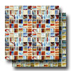 Artisan Glass Blends 1 x 1 Mosaic