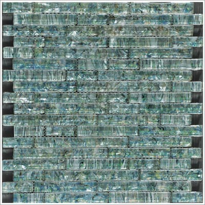 Tesoro Pearlesque 12 x 12 Mosaic Abalone Solid Linear ACPRLABLLNGM