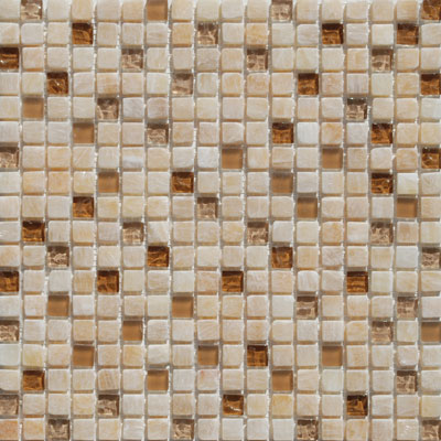 Tesoro Stone & Glass - Mini Mosaics Mini Mosaic 2 SALU58LT