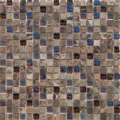 Tesoro Stone & Glass - Mini Mosaics Mini Mosaic 5 SALU58ON
