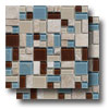 Stone & Glass - Puzzle Blend Mosaic