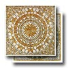Square Tumbled Medallion 36 x 36 Marble and Travertine