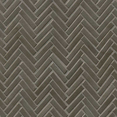 Bedrosians 90 Degree Herringbone Mosaic Metallic