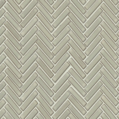 Bedrosians 90 Degree Herringbone Mosaic Putty