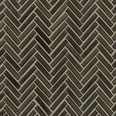 Bedrosians 90 Degree Herringbone Mosaic Shadow