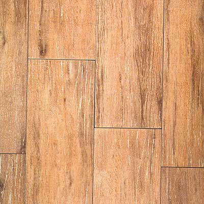 Tilecrest Distressed Wood 6 x 24 Pecan TCRWDP