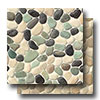 Hemisphere Pebble Mosaic Glazed