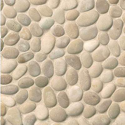 Bedrosians Hemisphere Pebble Mosaic Unglazed Antigua Unglazed