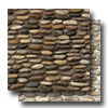 Hemisphere Stacked Pebble Mosaic Polished