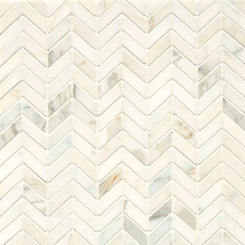 Chevron Marble Rug: Tilecrest Marble Stone Chevron Mosaic Tile & Stone Colors