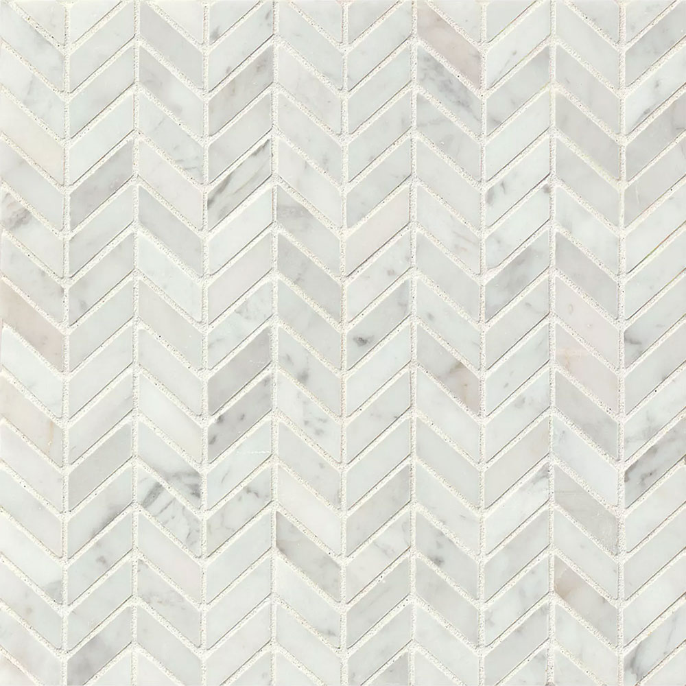Tilecrest Marble Stone Chevron Mosaic Tile Amp Stone Colors