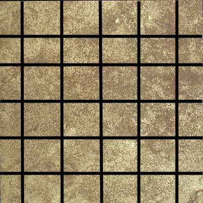 Tilecrest Mountain Mosaic 1 x 3 (Dropped) Walnut Mosaic TCRMOU13W