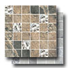 Raja Slate Porcelain Mosaic 2 x 2 With Glass