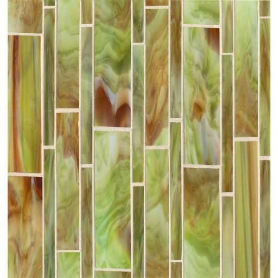 Bedrosians Retrospect Glass Mosaic 11 1/2 x 12 Sublime