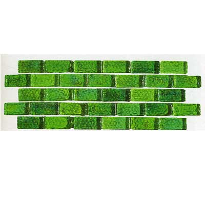 Tilecrest Transparent Series Mosaic Lime Green TCRMGM82