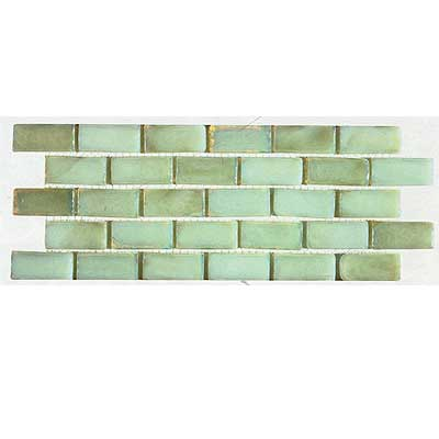 Tilecrest Transparent Series Mosaic Metallic White TCRMGM87