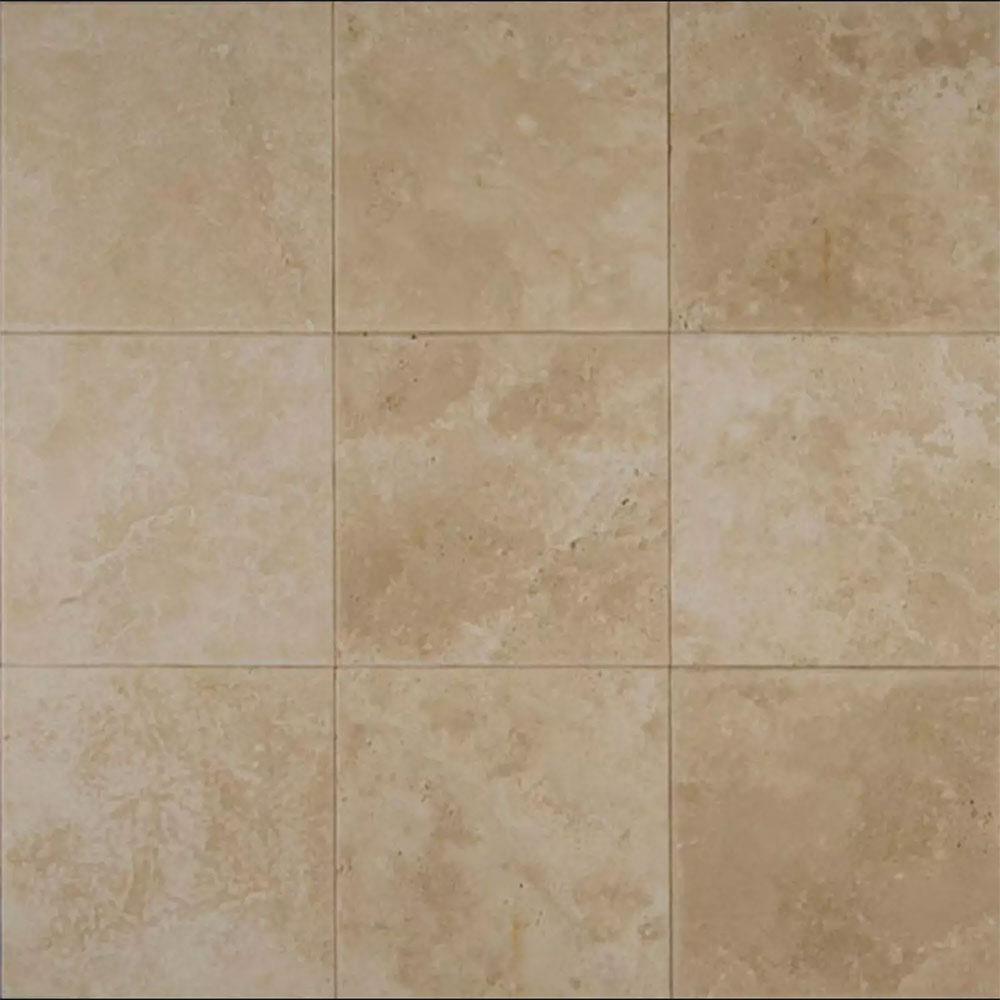 Ceramic Tile Stone : Tilecrest travertine stone veracruz sand honed