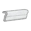 Interceramic Puebla Wall 6 x 6 V-Cap/Torello (VCA0206/26TR)  2 1/4 x 6