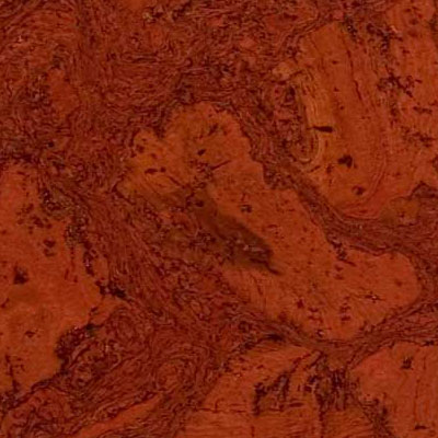 Duro Design Cleopatra Negra Cork Tiles 12 x 24 Algerian Red