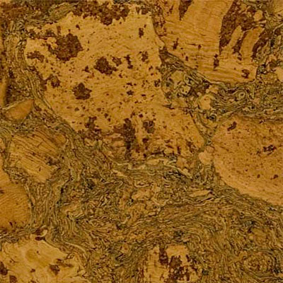 Duro Design Cleopatra Negra Cork Tiles 12 x 12 Cara Yellow