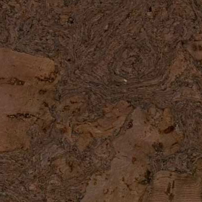 Duro Design Cleopatra Negra Floating Cork Plank 12 X 36 Charcoal