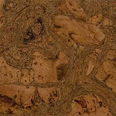 Duro Design Cleopatra Negra Cork Tiles 12 x 24 Leather Brown