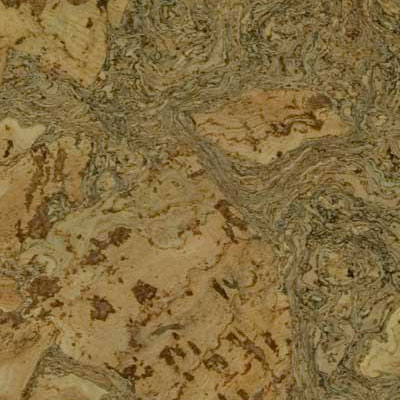 Duro Design Cleopatra Negra Floating Cork Plank 12 X 36 Marble Green