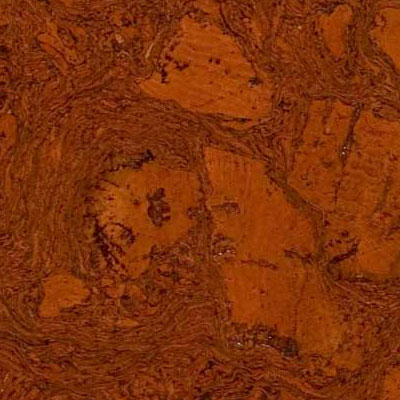 Duro Design Cleopatra Negra Cork Tiles 12 x 12 Red Maple