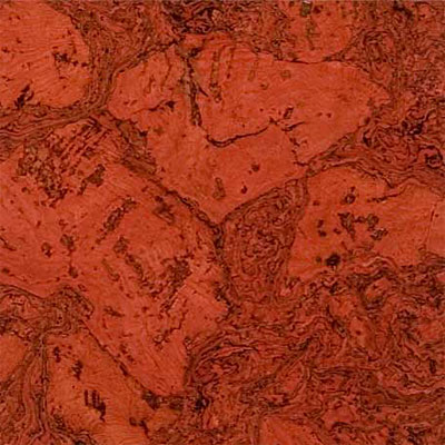 Duro Design Cleopatra Negra Cork Tiles 12 x 24 Scarlet Red